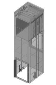LiftDesign Rhino (Goods Only) Lift