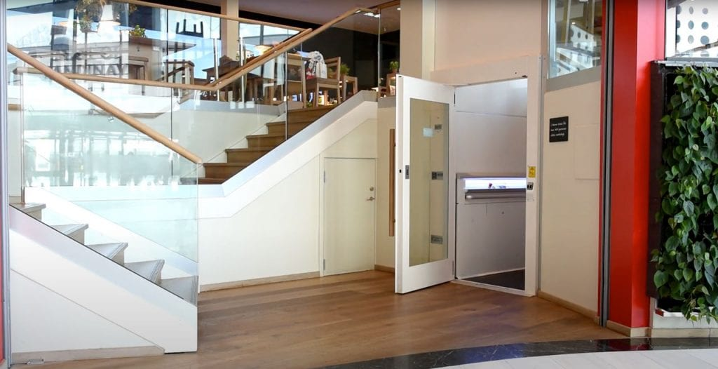 Wheelchair Lifts - LiftDesign A4 Primo Platform Lift